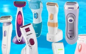 Range of powered Ladies Razors
