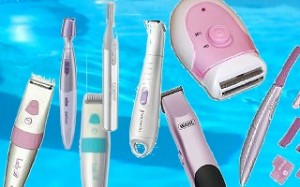 Range of powered Hair Trimmers for Ladies.