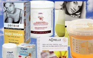 Sugar Wax Treatments used to remove unwanted hair.
